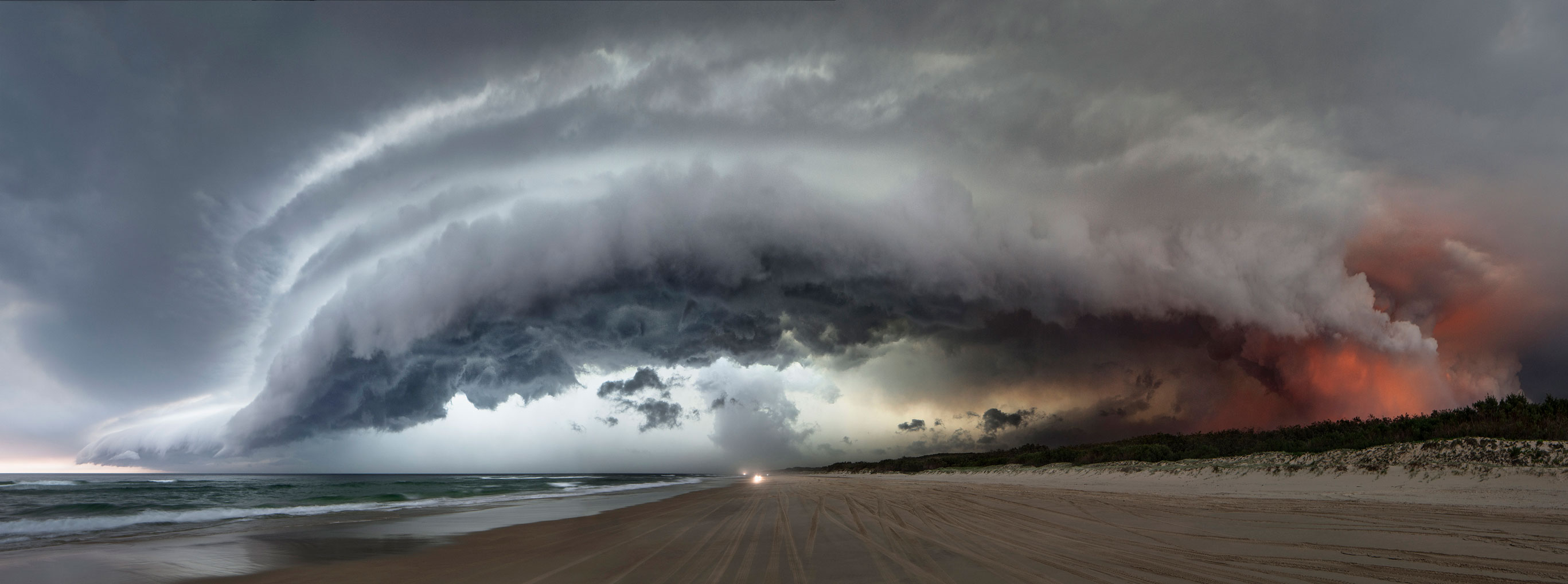 North Stradbroke, 100cm x 284cm, digital pigment print on cotton rag, edition of 7, 2014